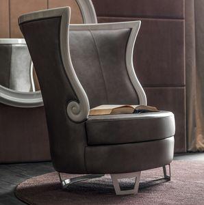 Gaudì Art. 637, Eleganter Sessel mit hoher Rückenlehne