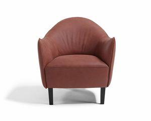 Musetta, Sessel mit einladender Ergonomie