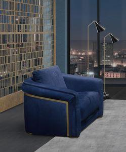 PO77 Desyo Sessel, Eleganter Sessel mit weichen Formen
