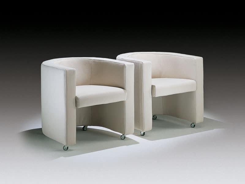 Willy, Moderne Badewanne Stuhl für Büro und Arztpraxis