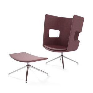 Zeus 1, Sessel mit hoher Rückenlehne für Warteraum