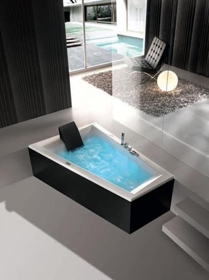 Beliebt Moderne Badewanne, verschiedene Massageprogramme | IDFdesign PN65