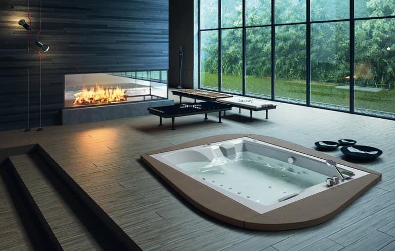 Beliebt Moderne Badewanne, verschiedenen Ausführungen, zum Fitnessbereich DP16