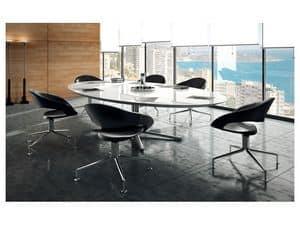 Samba selbstausrichtend 51500, Selbstausrichtende Drehstuhl, moderner Stil