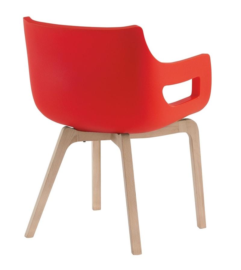 Day&Night, Stuhl für Wartezimmer oder Konferenzräume