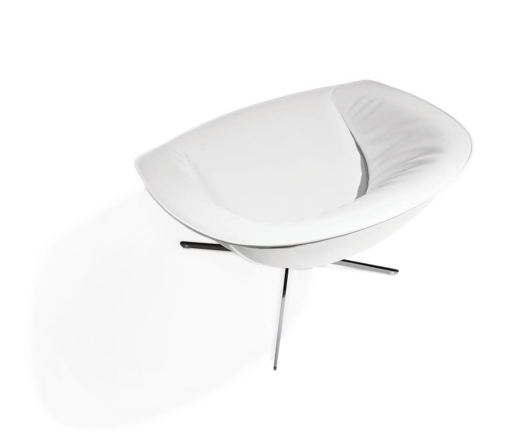 Krokus, Sessel mit Stahlrahmen, für Wartezimmer
