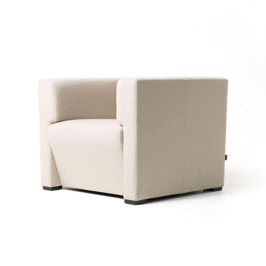 Toffee 1p, Platz Sessel mit inneren Struktur in mehrschichtigen