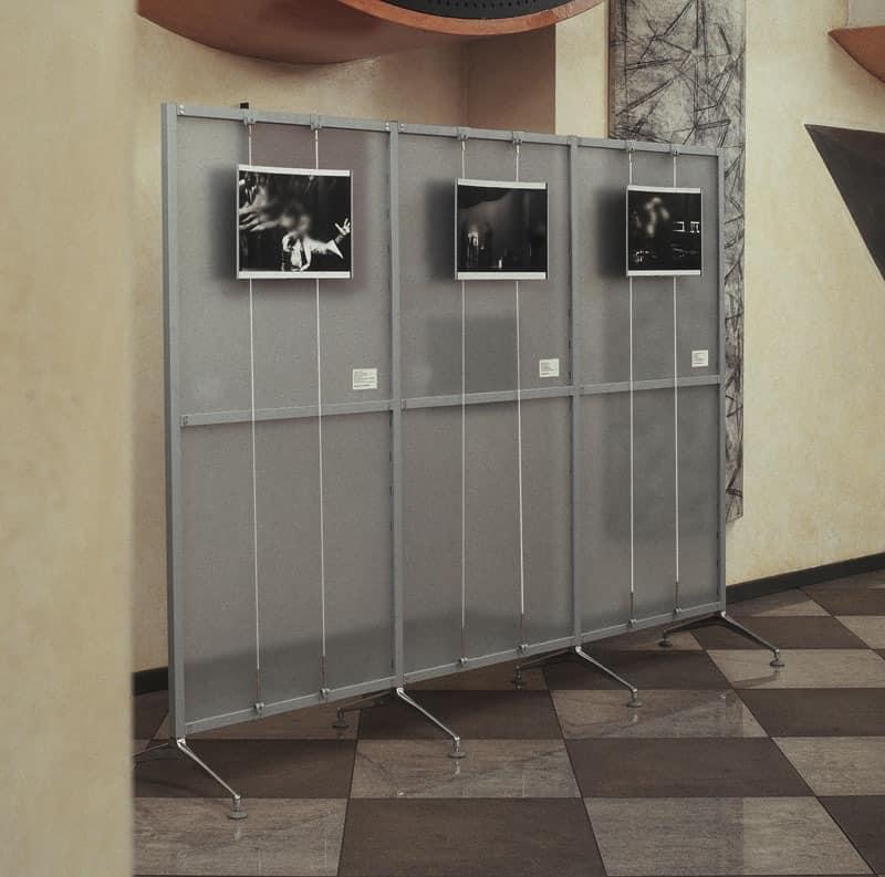 Archimede 3, Ergänzt mit Display-System, für die Büros und Ausstellungen