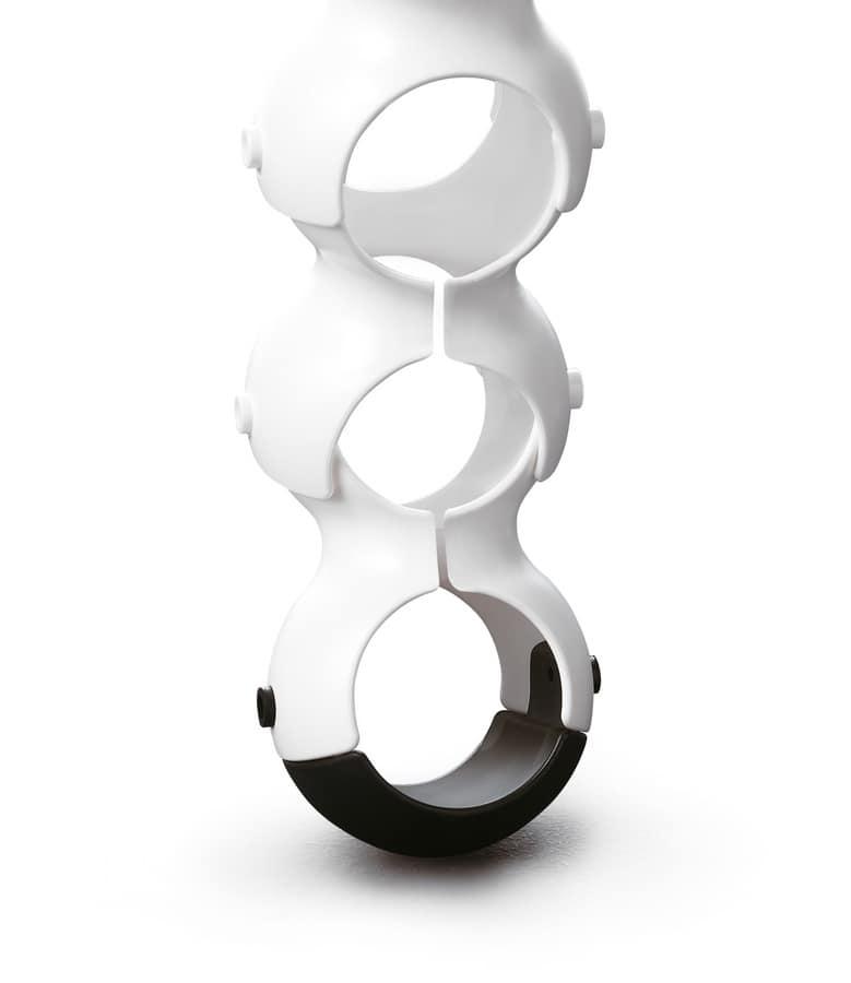 Biss, Original-Ösen im Polymer für Schreibtische