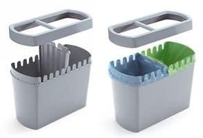 Divido, Bin in Polymer für Recycling, für Büros und Geschäfte