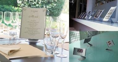 Koala desk, Zeigt Tabelle für Büro und Geschäfte