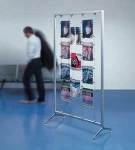Koala-t/Archimede display, Acryl Prospekthalter und Aussteller, für die Banken