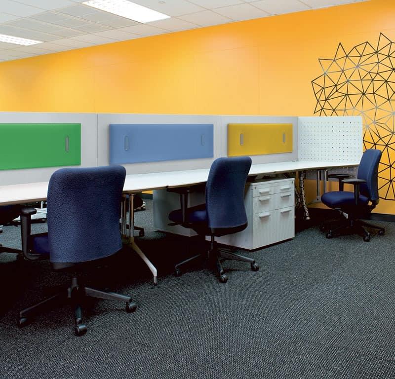 Mitesco 4, Platten mit selektiven Absorption, für die Büros