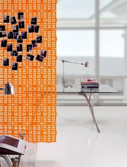 Pop-up, Modular Bürozubehör in Polymer