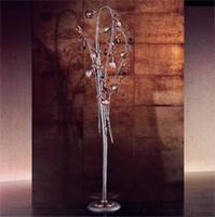 Melograno Stehleuchte, Klassische Stehleuchte mit kugelförmigen Glas Knistern Elemente