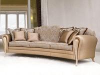Ikarus Ring, Luxus-Sofa, Decapè Armlehnen, für Hall Hotel