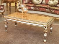 Kos Couchtisch, Klassische Couchtisch in Holz geschnitzt, für Luxushotel