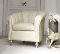 Letizia Sessel, Handgearbeiteter Sessel für Hotelhalle
