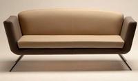 PL 999.02, Sofa bedeckt mit Stoff oder Leder, für Wartezimmer