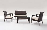 Malibù Set, September Gartenmöbeln, vollständig gewebt, für Gärten und Bars