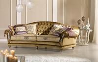 Etoile Ring capitonné, Sofa mit tufted zurück, für klassische Wohnzimmer