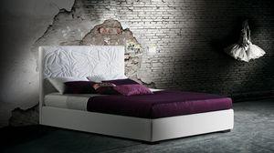 Mauritius, Betten mit gepolstertem Rahmen und Kopfteil