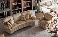 Camilla Ring, Polster 3er-Sofa in der klassischen Luxus-Stil