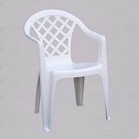 Quadri, Außen-Stuhl mit Armlehnen, leicht, in Harz