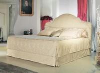 Betty, Klassisches Bett, gepolstertes Kopfteil, um Luxus-Hotel