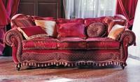 Botticelli, Gepolstertes Sofa, gewundenen Linien, klassischen Stil