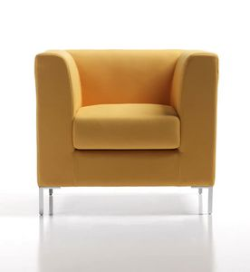 Frame New 1p, Moderner gepolsterter Sessel mit Mehrschichtstruktur