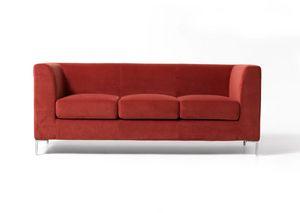 Frame New 3p, 3-Sitzer Polstersofa im einfachen Stil für medizinische Studio
