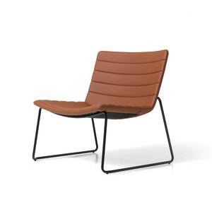 Miss lounge, Stühle mit breiten Sitz, für Lounge-Bereich