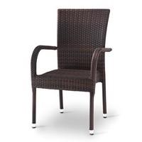 Giada 2, Gewebte Stuhl mit Armlehnen, für Ice Cream & Bar