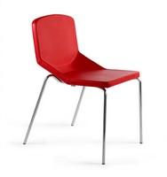 Formula40 4g fabric, Metallstuhl gepolstert, komfortabel und gemütlich, einsetzbar in jedem Kontext