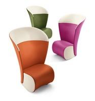 Koccola Plus, Hohe Rückenlehne, verschiedene Farben, für Wartezimmer