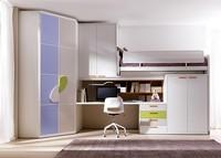 Comp. 402, Kleine Zimmer für ein Kind, Schutz für das Klappbett