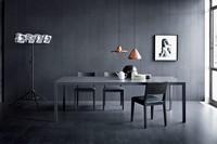 Soffio, Lineartisch für Wohnzimmer, moderner Stil