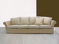 Lord mit traditionellen zurück, Moderne Sofa mit Struktur aus Holz, Buche Füße