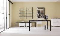 dl50 londra, Stahl OP-Tisch, Glasplatte, für Studio