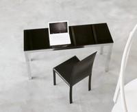 dl50 parigi, B�rodesign Tabelle, in Aluminium und Glas