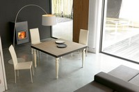 dl60 lisbona, Tisch mit Metallstruktur, für Esszimmer
