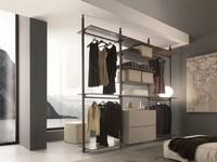 dl300 gotheborg, Schrank ohne Türen für Schlafzimmer, Wandmontage
