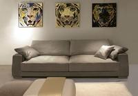Theodor, Elegantes modernes Sofa für Büro
