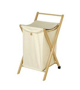 Wäsche, Bag Container mit Struktur aus Buchen