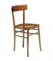 Milano, Stühle mit Holz, für Kirchen, in verschiedenen Ausführungen