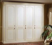 Pictor Kleiderschrank, Dekoriert Kleiderschrank aus Holz für Schlafzimmer