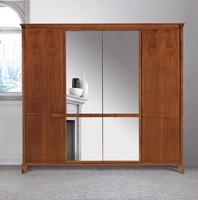 Art. 320 Kleiderschrank, Kleiderschrank im klassischen Stil, mit Spiegel