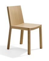 Bianca RS VS, Chair komplett aus Sperrholz, linearen Stil