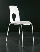 HOLE, Polypropylen Stuhl, langlebig, modern, Wartezimmer